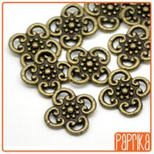 10 connettori bronzo 14mm