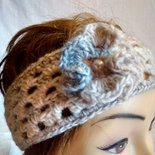 Fascia per capelli, paraorecchie in lana