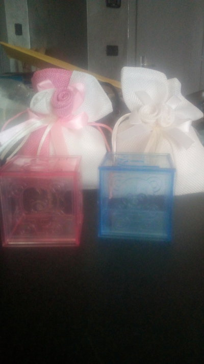 Sacchetti bomboniere prima nascita o battesimo