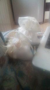 Sacchetti porta confettii comunione/cresima
