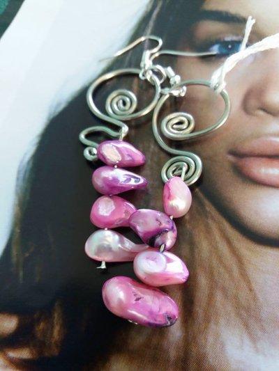 orecchini wire glicine