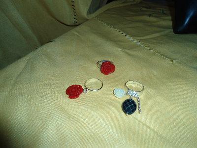 anelli con rose