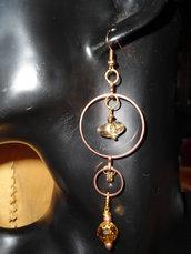 orecchini pendenti cerchi