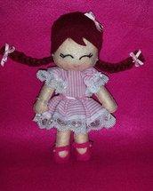 Bambolina in pannolenci