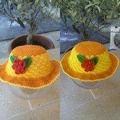 Cappellino di cotone baby