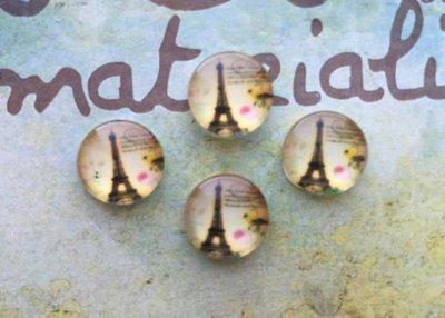 Cabochon Torre Eiffel mod.0512