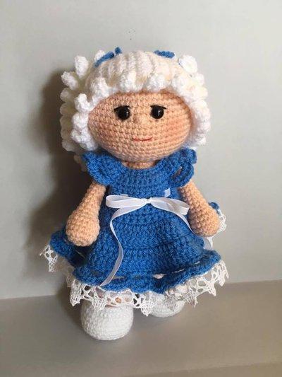 Fabuleux Bambola Noa Amigurumi - Bambini - Giocattoli - di Sul filo di lana  LV74