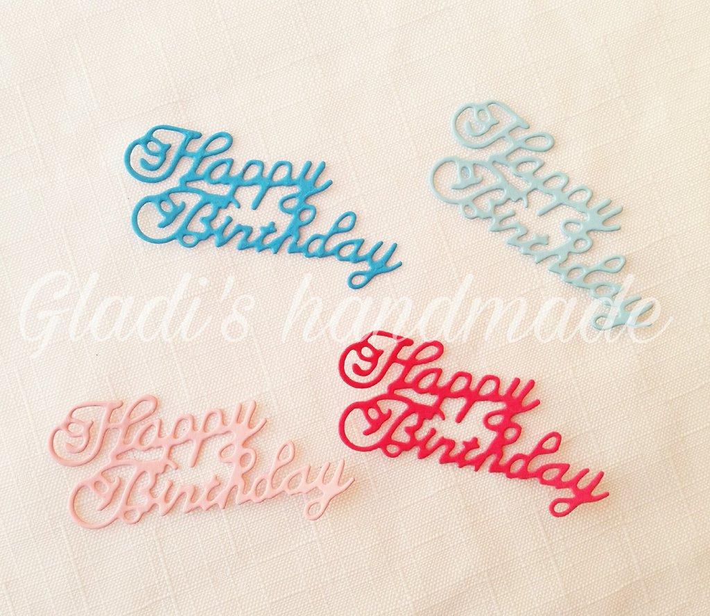 40 scritte HAPPY BIRTHDAY