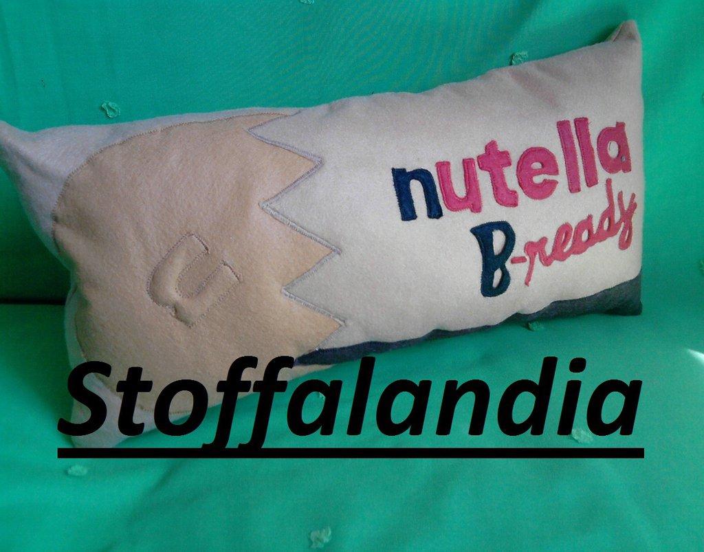 CUSCINO NUTELLA B-READY IDEA REGALO