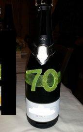 Decora bottiglia numero