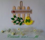 Decorazione Pasqua idea regalo in feltro