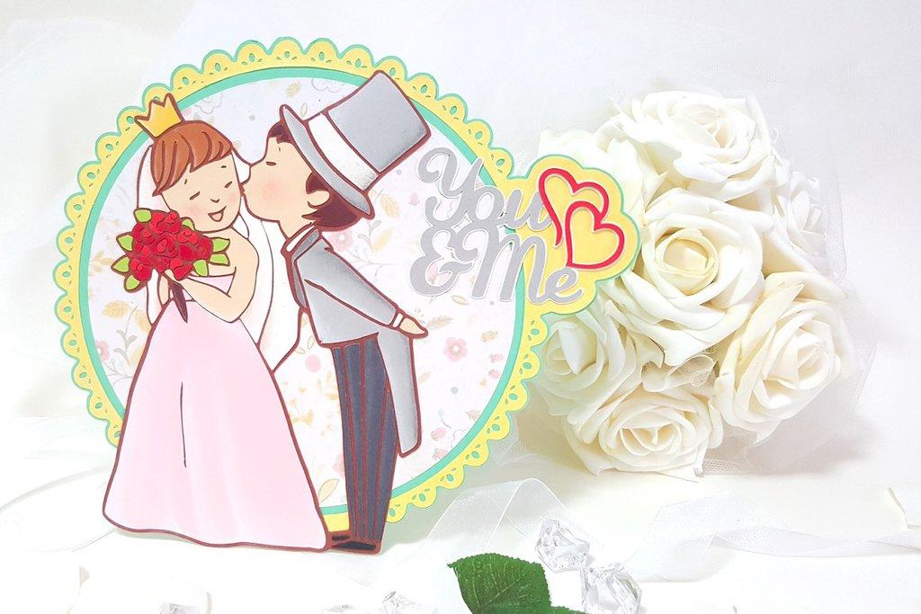 Cake topper wedding matrimonio