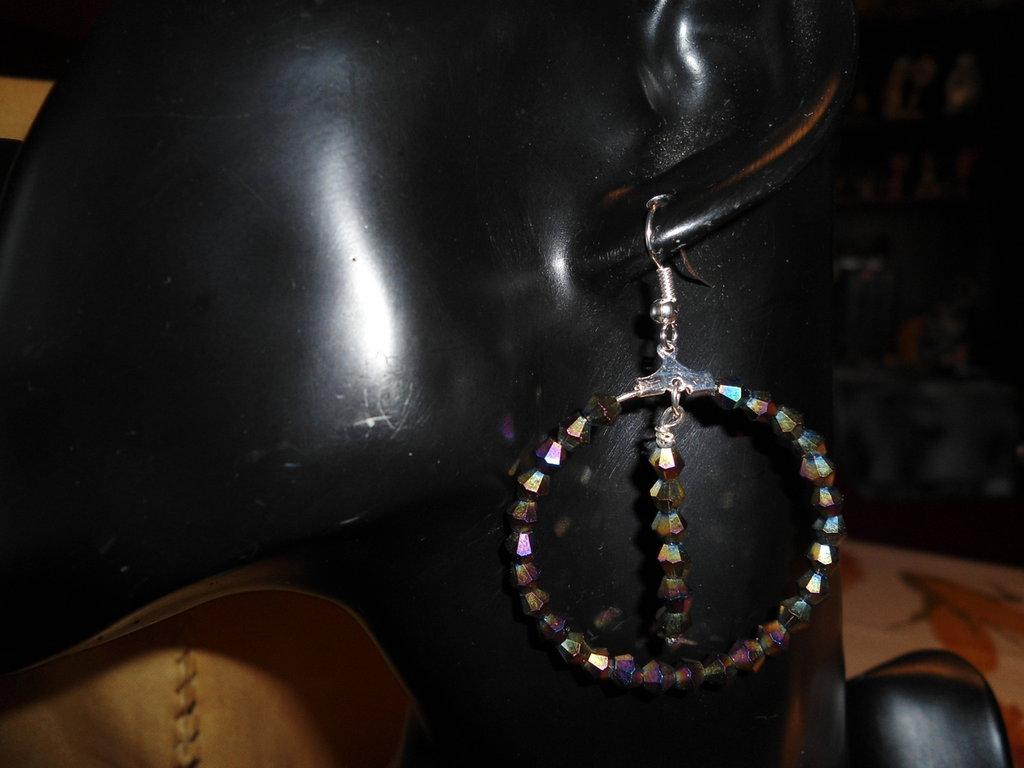 orecchini pendenti svaroski