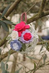 La palla fiorita 🌹💙😍