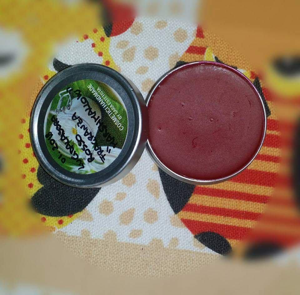 Lucidalabbra Rosso Handmade