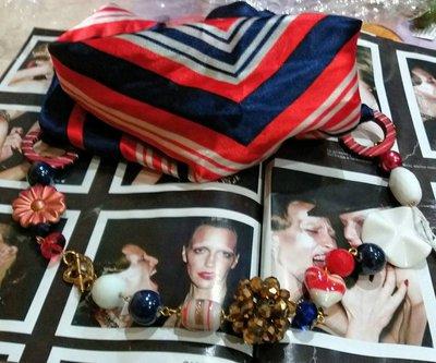 foulard con collana