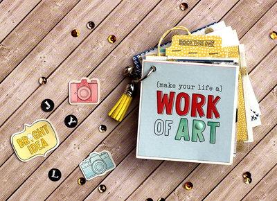 "Album Fotografico ""Work of heart"""