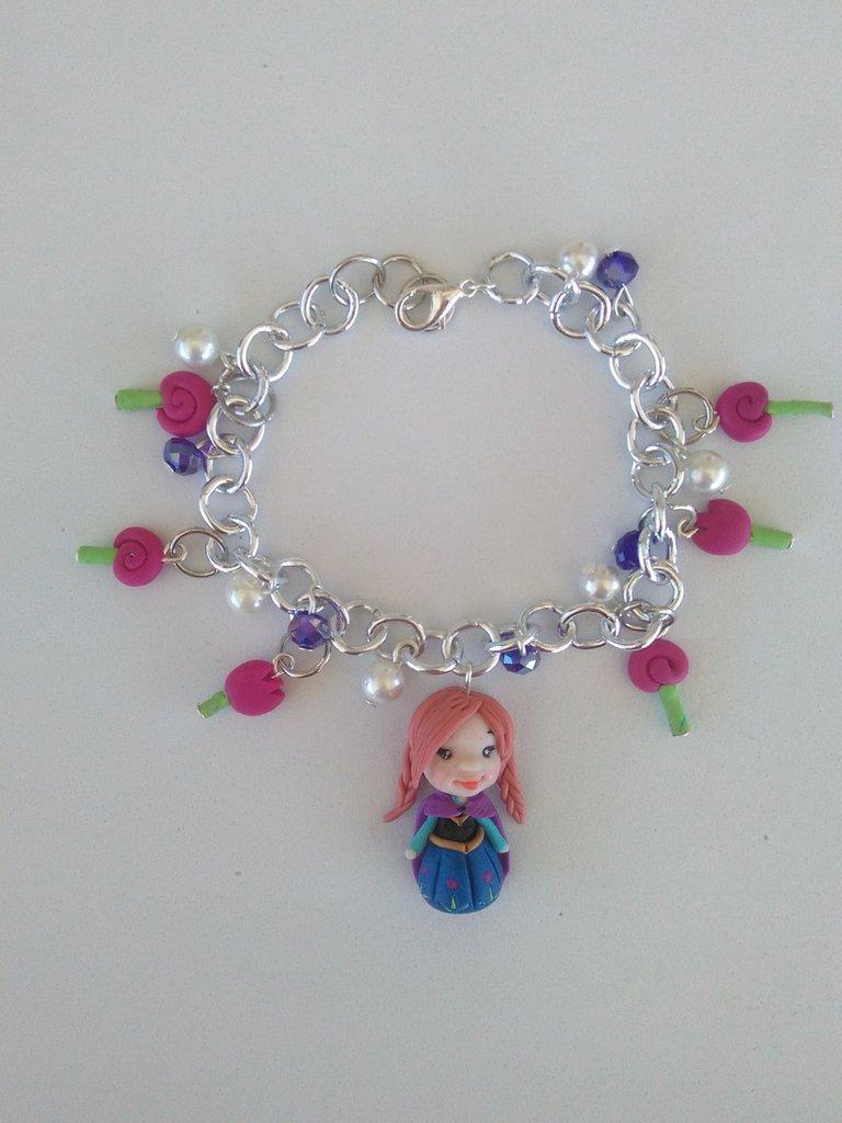 Braccialetto Anna di Frozen
