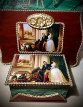 "Cofanetto ""Pietra malachite"" (Royal Collection)"