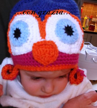 cappellino bimba 12/18 mesi