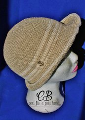 Cappello uncinetto fatto a mano
