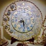 """Orologio da parete """"Golden Rose"""""""