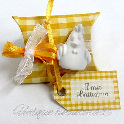 Bomboniera Battesimo con galletto