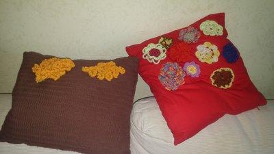 Cuscini decorativi con fiori