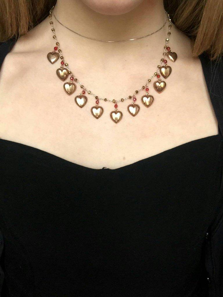 Collana cuori festa della mamma