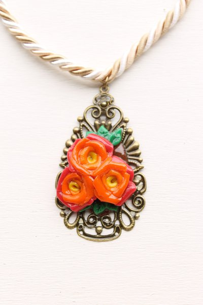 Goccia di filigrana in rose 🌹🌹🌹