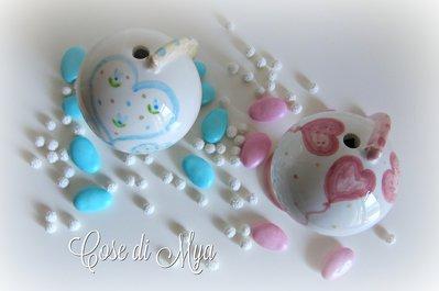 Mappamondi in ceramica profumatori