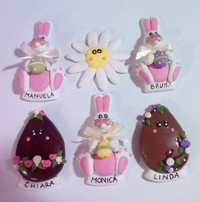Spille di Pasqua per Monica