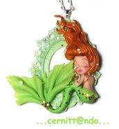 Collanina mint mermaid