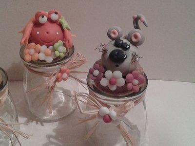 Allegri animali per bomboniere