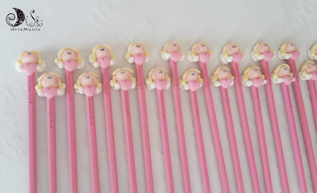 55 matite per bimba soggetti misti