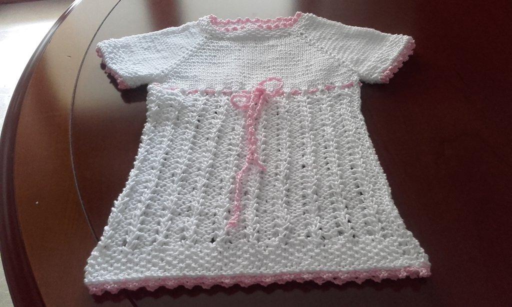 Vestitino baby in cotone