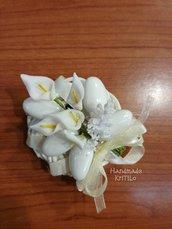 Bomboniera prima comunione ghirlanda con confetti