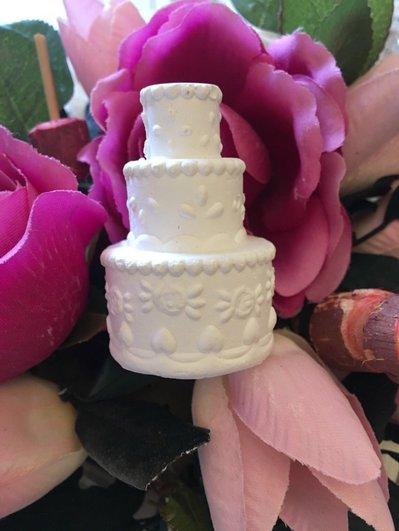 Gessetti profumati torta sposi