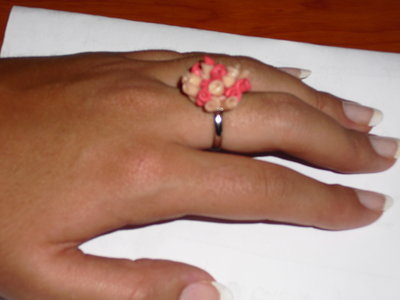 anello bouquet rose