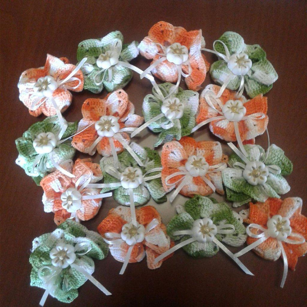 delicato segnaposto fiore