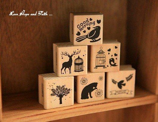 """Timbro in legno e gomma """"tema a scelta""""(30x2,5mm) (cod. nuovo)"""