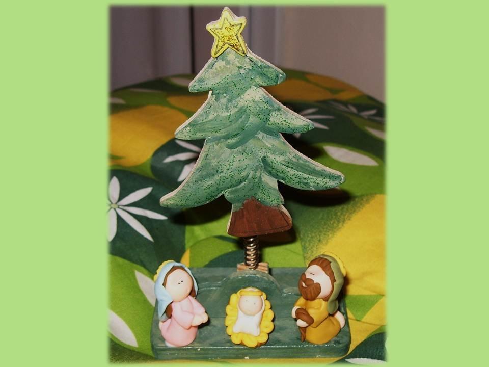 Presepe e alberello di Natale