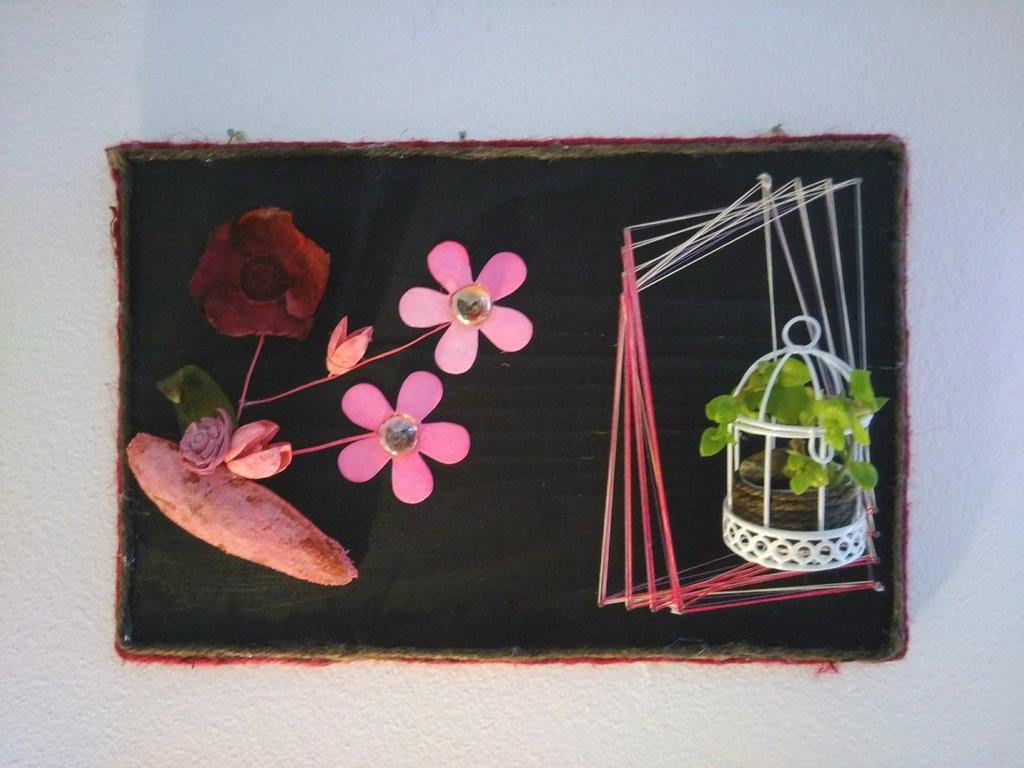 Quadro fatto a mano Flower Spring