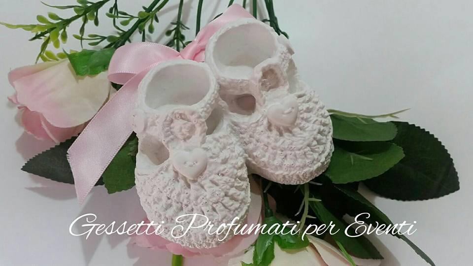 Scarpette neonata/o battesimo