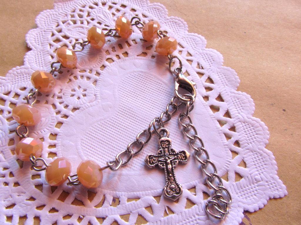 Bracciale stile rosario