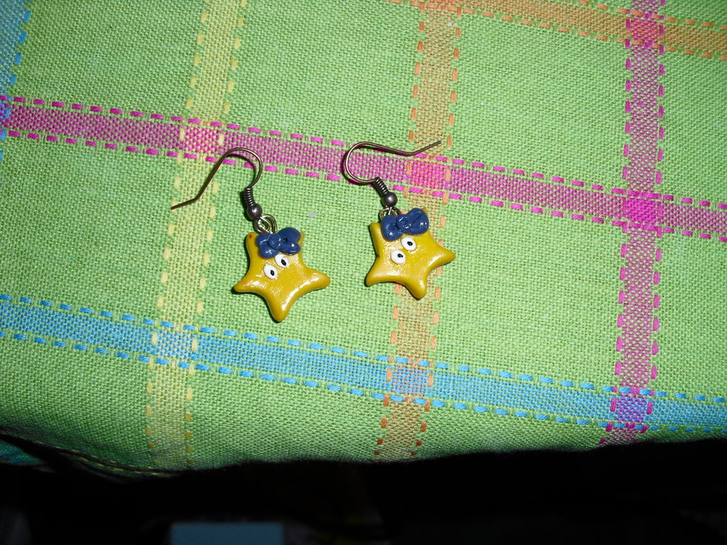 orecchini stelline