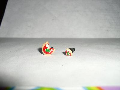 orecchini a perno margherita