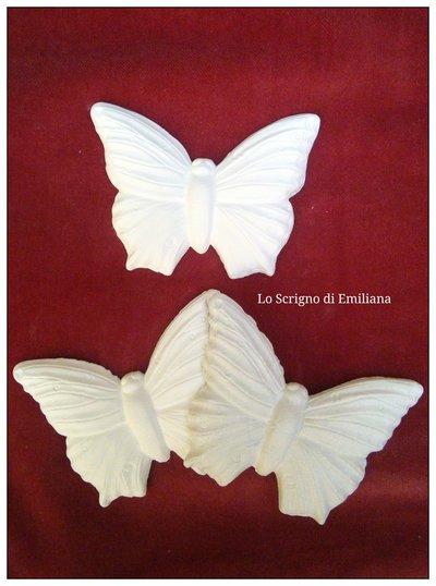 Gessetti profumati farfalla per realizzare bomboniere/segnaposto