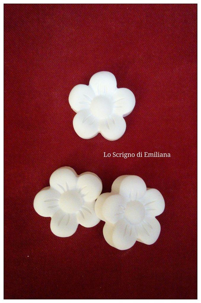 Gessetti profumati fiore per realizzare bomboniere/segnaposto