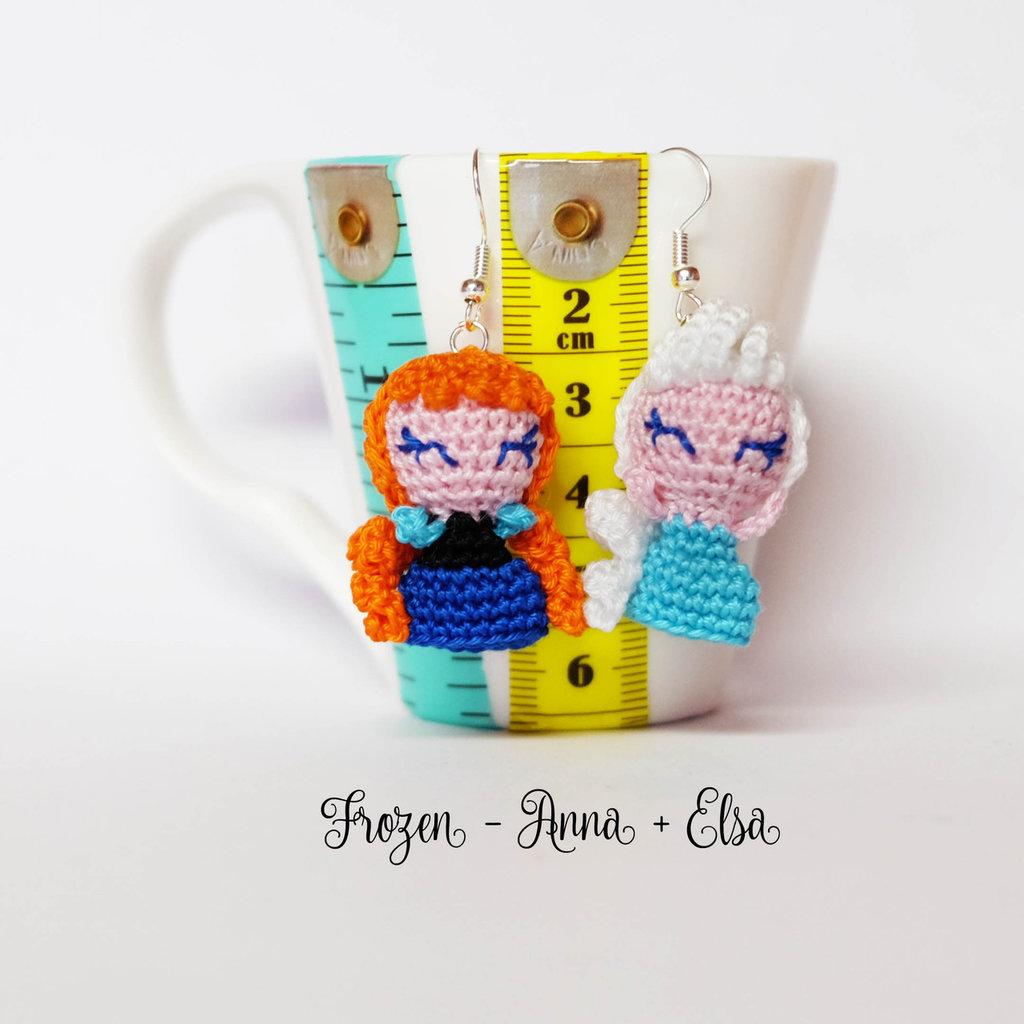Elsa - Amigurumi Doll Crochet Pattern PDF | Bambole di uncinetto ... | 1024x1024